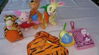 Pooh and friends Mcdonalds collectibles