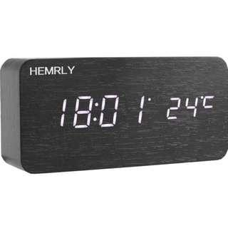 Wood Digital Alarm Clock