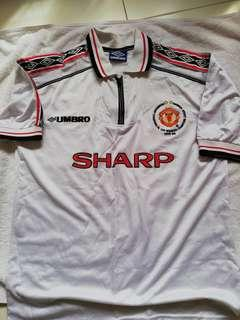 Vintage Manchester United 1998 Jersey
