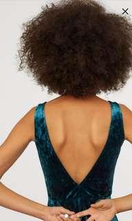 H&M Verlour Dress