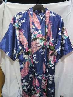 Blue Shiny Robe