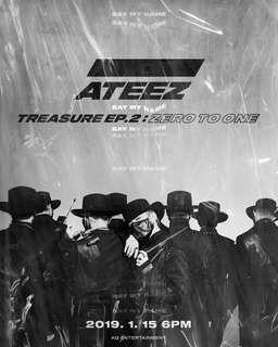 ATEEZ - Mini Album Vol.2 [TREASURE EP.2 : Zero To One] SG GO 🇸🇬