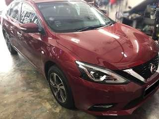 Nissan Sylphy 2018-2019 LED wing mirror cover