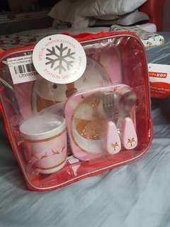 🚚 Skip Hop Mealtime Gift Set - 5 piece utensil