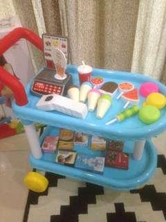 Ice Cream Trolley Set #NEW99
