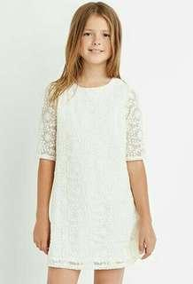 Preloved Forever 21 lace shift dress for girls