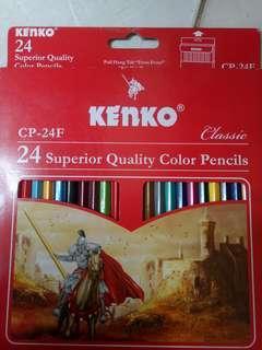 Pensil Warna Kenko Classic Isi 24