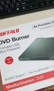 全新未開封 Buffalo DVD Burner