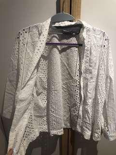 GAP white kimono