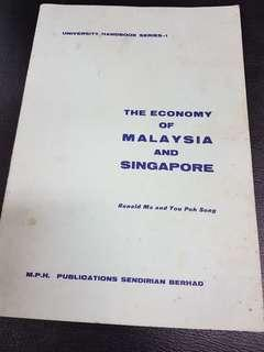 1968 The Economy of Malaysia and Singapore