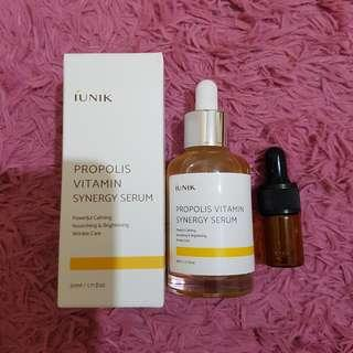 (ISI 5 ML) IUNIK PROPOLIS VITAMIN SYNERGY SERUM SHARE IN BOTTLE