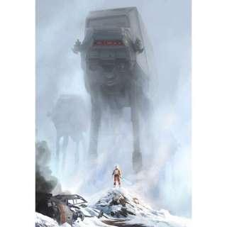 Star Wars Too Strong for Blasters SDCC 2018 Exclusive Lithograph