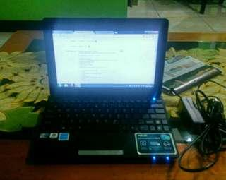 Laptop Asus seashell 1011PX Good conditions murah