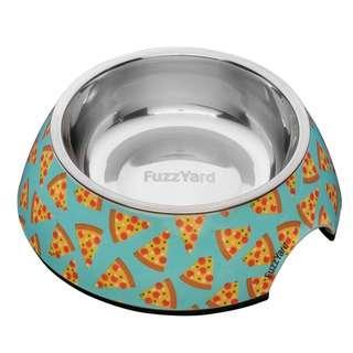FUZZYARD Pizza LYF Easy Feeder Bowl
