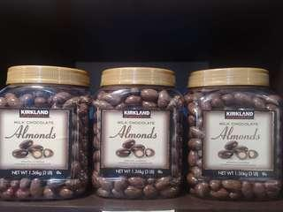 Kirkland Milk Chocolate Almonds (1.36kg)
