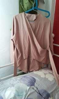 Long sleeve in milo pink
