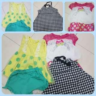 Baby Girl Clothes 9month price inc postage
