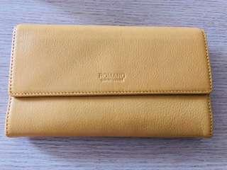 Brand new Leather travel wallet from Japan