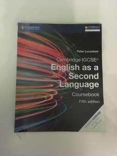 Cambridge IGCSE English as a Second Language Coursebook Fifth Edition