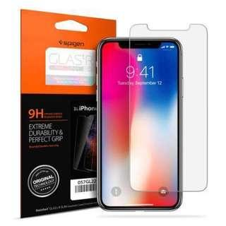 Spigen Tempered Glass for IPhone X & Xs