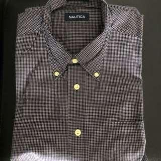 🚚 Brand New Nautica Cotton Short-Sleeve Shirt - Unworn