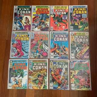 Marvel Comics King Conan #1-23 Complete Run VF/VF-