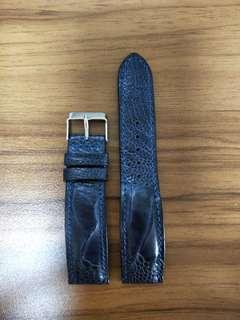🚚 20mm Genuine Ostrich Leg Watch Strap