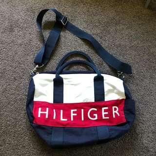 Authentic Tommy Hilfiger Mini Duffle Strap Bag Handbag