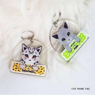 Custom tag cat
