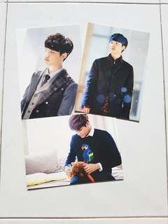 EXO Miracles In December Postcards
