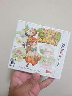 3DS Game Story of Seasons