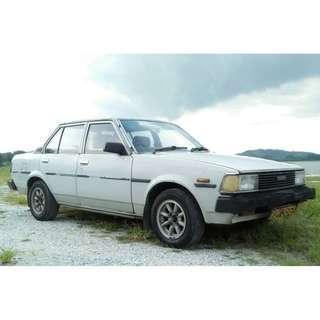 toyota ke70 GL dx wagon good gondition