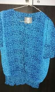 Blue Tops by L.O.G.G
