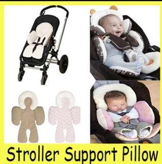 Reversible body support pillow for infant/baby
