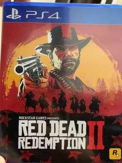 PS4 Red dead 2