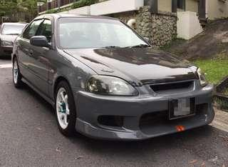 Honda Civic ej6 fully converted ek99 2.0 manual