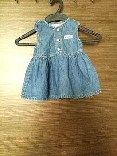 Baby Guess Jean baby girl dress