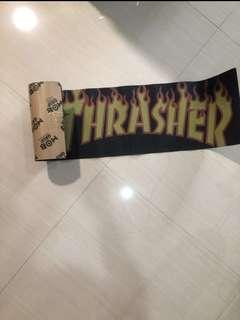 (On Hand Now) Thrasher x MOB GRIP