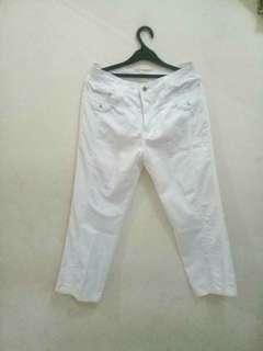 KEENEAGLE White Trousers