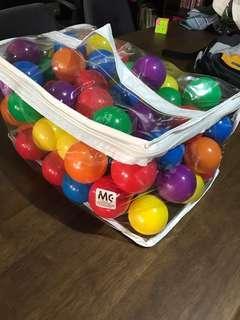 Multi Color Plastic Balls