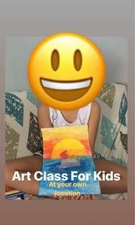Fun Art Class For Kids