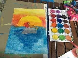 Art Class For Kids, improve their creativity and imagination
