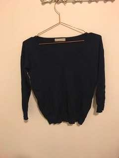 FORCAST NAVY TOP