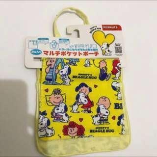 🚚 日本snoopy史努比收納袋包包內袋#舊愛換新歡