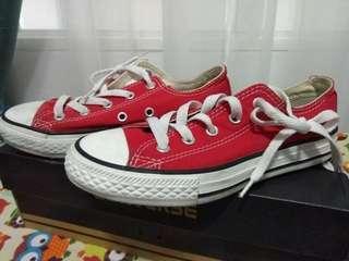 Converse All Star Original Red Kids