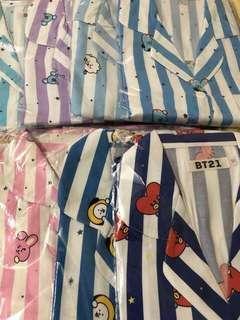 [SALE] BT21 BTS Pajama