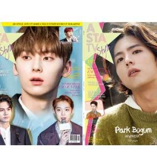 [ONE LEFT-ON HAND]ASTA TV Style Jan 2019 Park Bo Gum W/ Wanna One