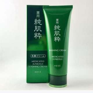 Kose Medicated Junkisui Washing Cream