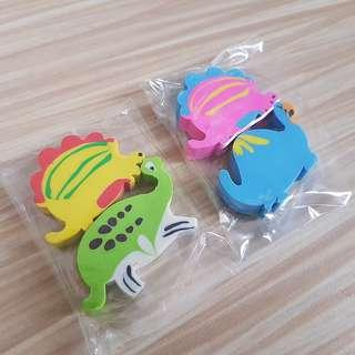 Back to school sale✏Dino erasers