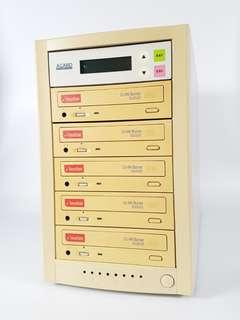 ACARD ARS-2030T Standalone 5-slot 1-to-5  CD Copy Duplicator
